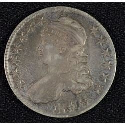 1818 BUST HALF DOLLAR AU NICE ORIGINAL LOOK