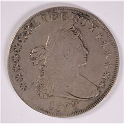 1798 DRAPED BUST DOLLAR,  VF/XF  NICE!