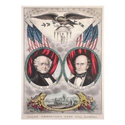 Van Buren & Adams - Grand National Banner Jugate