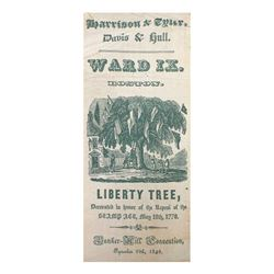 "William H. Harrison - ""Liberty Tree"" Ribbon"