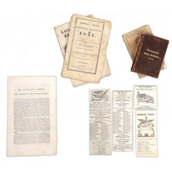 William H. Harrison - 1840 & 1841 Ephemera