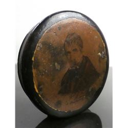 William H. Harrison - Papier-Mache Snuff Box