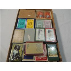 JACKPOT BOX FULL VINTAGE POKER PLAYING CARDS ADVER