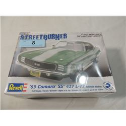 REVELL MODEL KIT SEALED 1969 CAMARO CHEVY