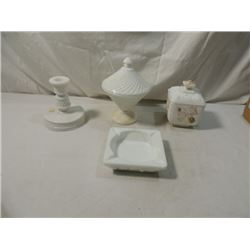 WESTMORELAND MILK GLASS ANTIQUE LOT RARE!!