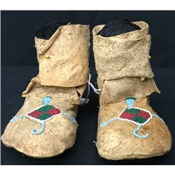Northern Plains Hightop Moccs - Circa 1900