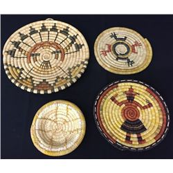 Hopi Coiled Basket Group