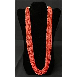 Multi-Strand Coral-Style Necklace