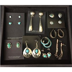 Earring group (of 12)