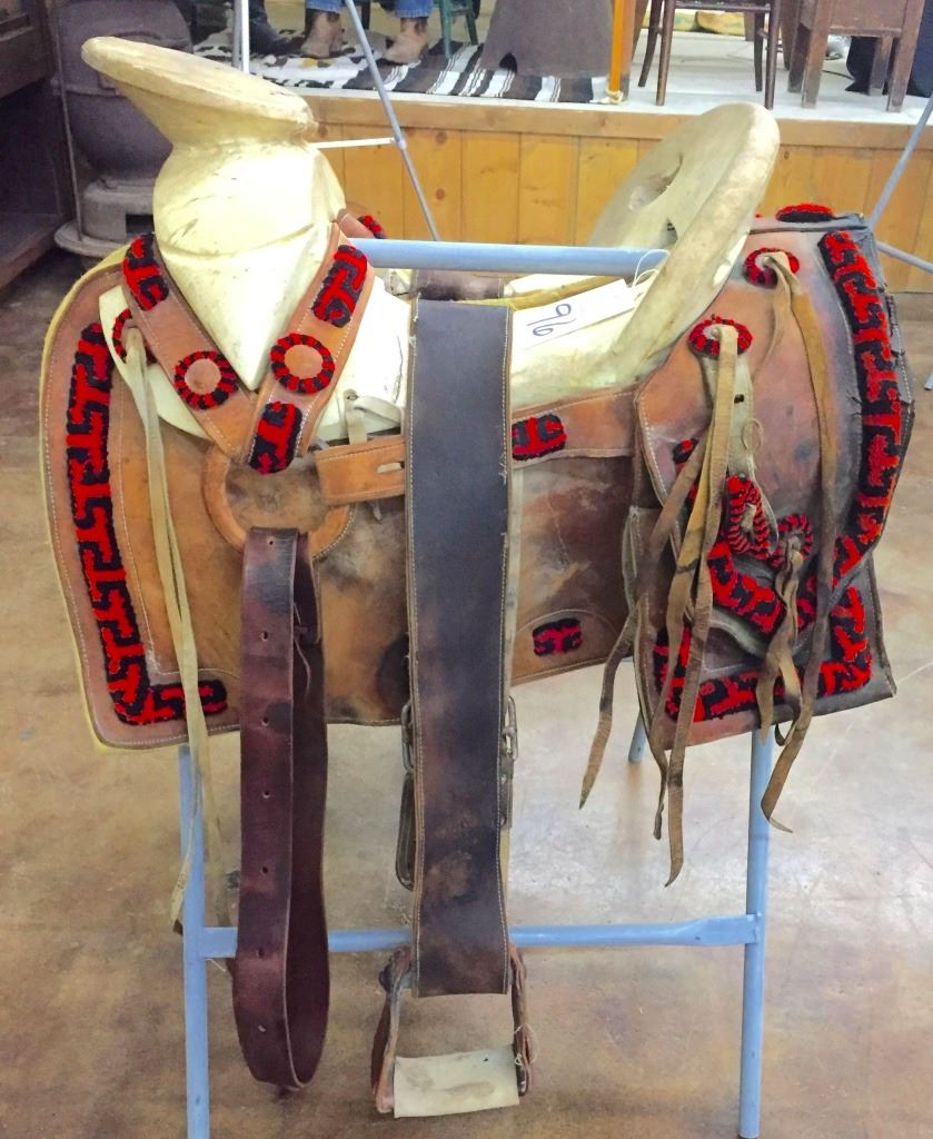 Vintage Mexican Charro Saddle
