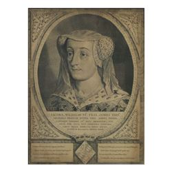 After van Eyck, Antique Engraving