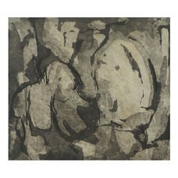 Suzi Gablik, Etching with Aquatint