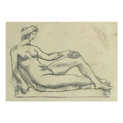 A. Maillol, Lithograph - Nude
