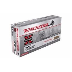 10 BOXES Winchester X300WSM Super-X 300 Win Short Mag Power-Point 180 GR (200 ROUNDS) .020892213098