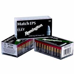 *AMMO* Remington RE22EPS Eley Competition Match 22LR Lead Flat Nose 40GR (500 ROUNDS) 047700009803