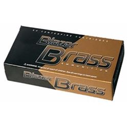 10 BOXES CCI 5202 Blazer Brass 380ACP 95GR Full Metal Jacket (500 ROUNDS) .076683052025