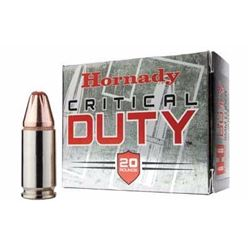 Hornady Critical Duty 40 Smith & Wesson FlexLock 175 GR 200 Rounds UPC # 090255913767