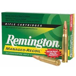 Remington Ammo Managed Recoil 7mm Rem Mag Core-Lokt PSP 140GR 200 Rounds UPC 047700363608
