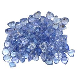 12.08ctw Round Mixed Tanzanite Parcel