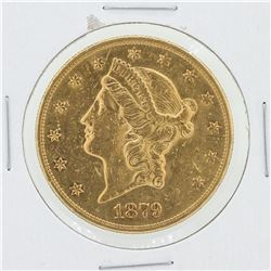1879-S $20 C Liberty Head Gold Coin