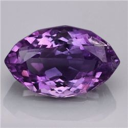 "Natural Purple Amethyst ""Marquise-Eye"" 10 Carats"