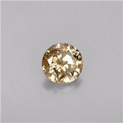 Natural Champagne Diamond 2.04 ct - GIA Certified