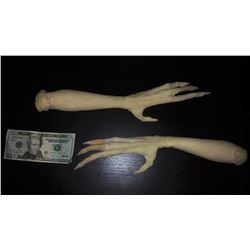 ANCIENT ALIENS MINIATURE ARMS CASTINGS PAIR