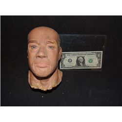 TOTAL RECALL SCREEN USED ARNOLD SCHWARZENEGGAR MINIATURE HEAD FROM MARS CHOKING SCENE