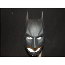 BATMAN THE DARK KNIGHT COWL SCREEN USED STUNT OR TEST