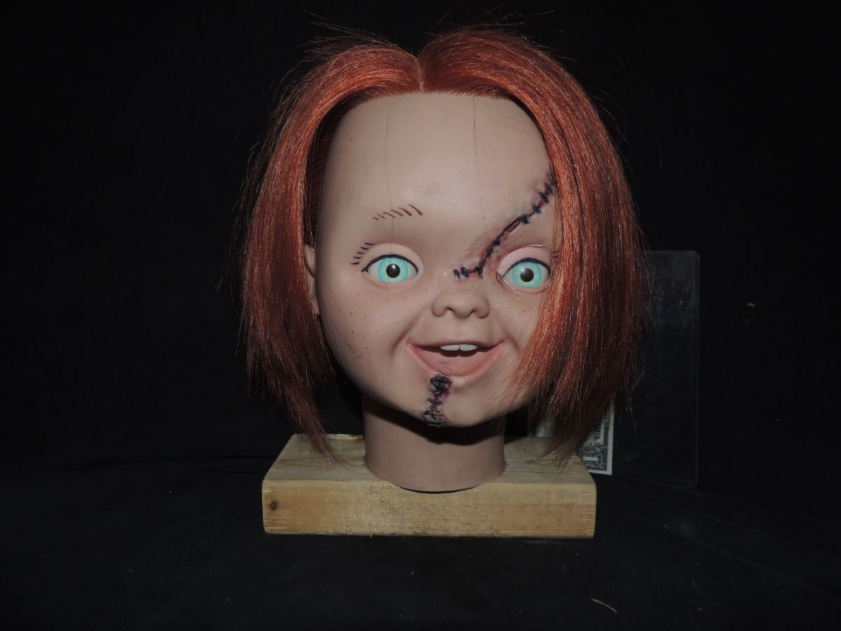 CURSE OF CHUCKY SCREEN USED & MATCHED GOOD GUY HEAD FROM ...