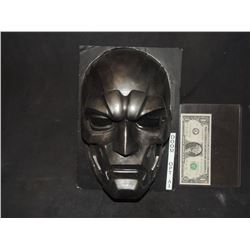 FANTASTIC 4 RISE OF THE SILVER SURFER DR DOOM MASK VERY FIRST ONE MADE FOR PRODUCTION!