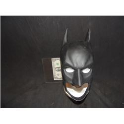 BATMAN THE DARK KNIGHT SCREEN USED HERO BAT SUIT COWL