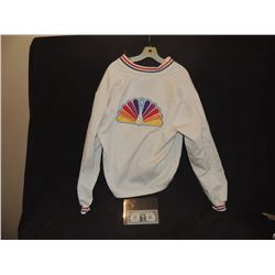 CBS TV PEACOCK VINTAGE PROMO JACKET