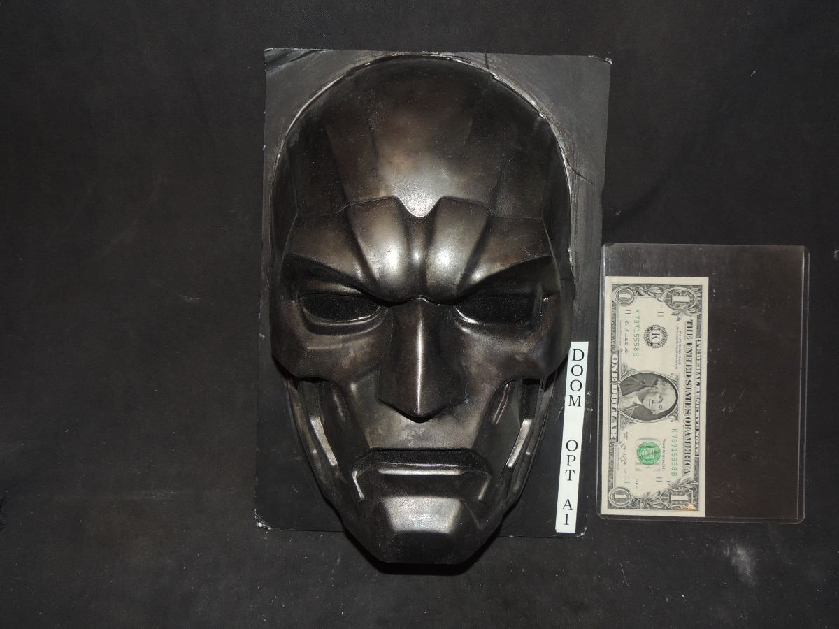 FANTASTIC 4 RISE OF THE SILVER SURFER DR DOOM MASK VERY ...