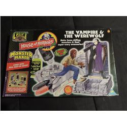 DRACULA THE WOLFMAN VINTAGE MONSTER MAKER KIT INTACT UNOPENED