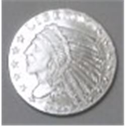 1929 SILVER INDIAN LIBERTY HEAD 1/10oz .999 FINE SILVER *MS HIGH GRADE*!!