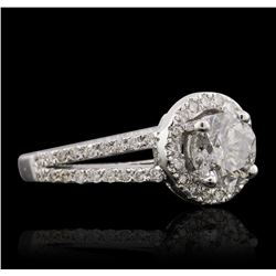 14KT White Gold 1.75ctw Diamond Ring