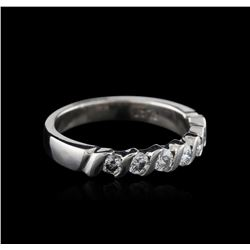 Platinum 0.50ctw Diamond Ring
