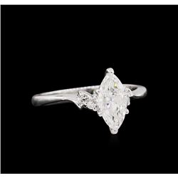 1.05ctw Diamond Ring - 14KT White Gold