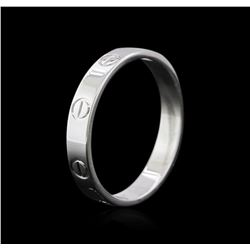 Cartier 18KT White Gold Ring