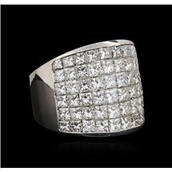 14KT White Gold 8.10ctw Diamond Ring