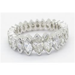 3.00ctw Diamond Ring - 14KT White Gold