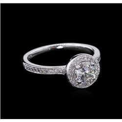 0.67ctw Diamond Ring - 14KT White Gold