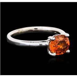 14KT White Gold 2.12ct Spessartite Ring