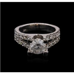 1.86ct Diamond Ring - 14KT White Gold