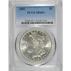 1903 MORGAN DOLLAR PCGS MS65+