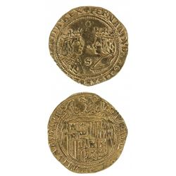 Spain Double Excellente Gold Coin
