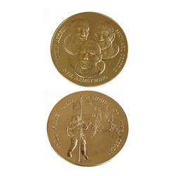 Netherlands 1969 Apollo XI Gold Medal