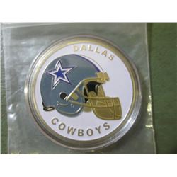 Dallas Cowboys National Football League Coin In airtight holder