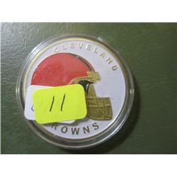 Cleveland Browns National Football League Coin